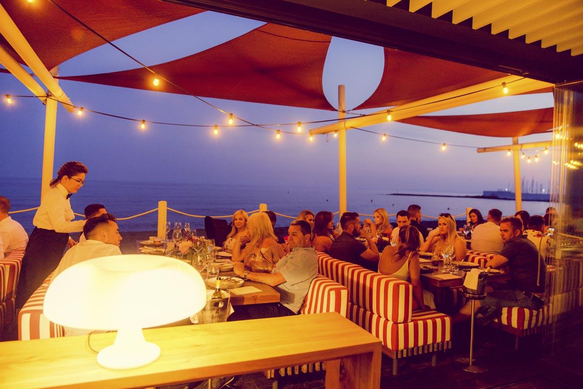 Cena de gala del primer aniversario de Soleo Marbella