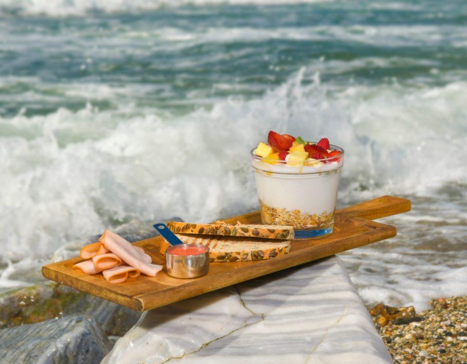 Desayuno con olas